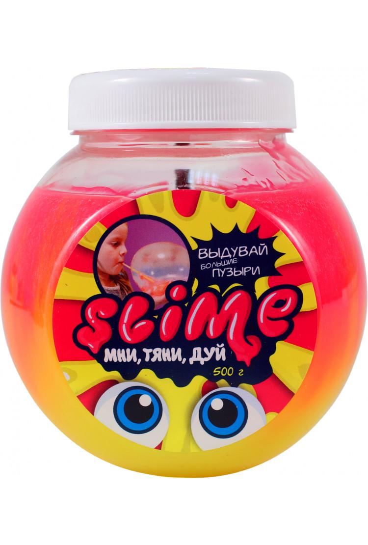"Slime ""Mega Mix"", розовый + желтый"