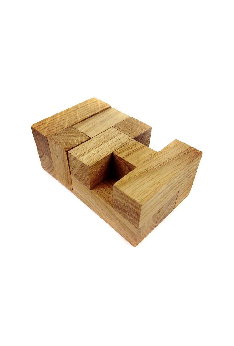 """Деревянная головоломка """"Летний кубик"""""""