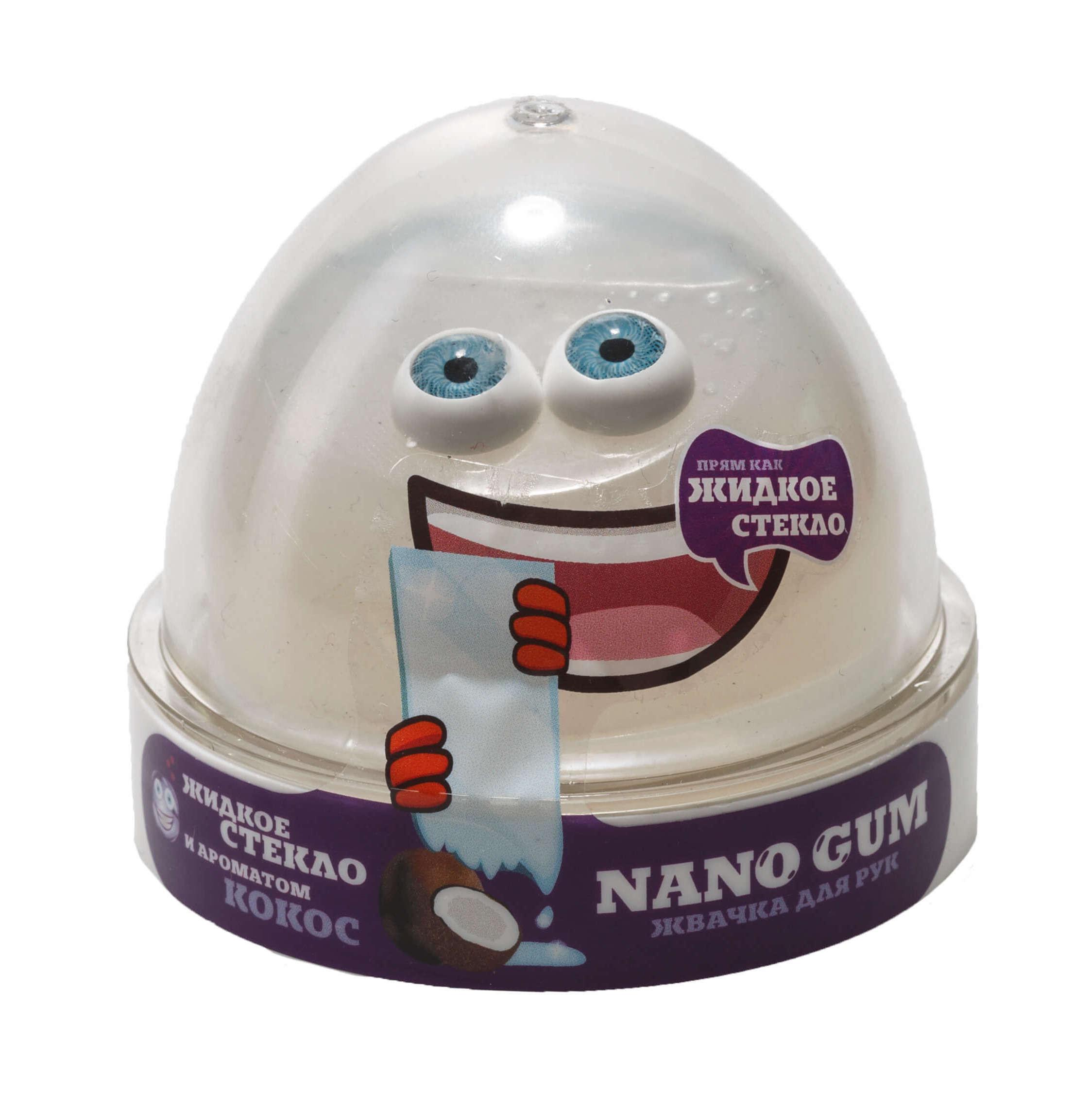Nano gum, Жидкое стекло с ароматом Кокоса