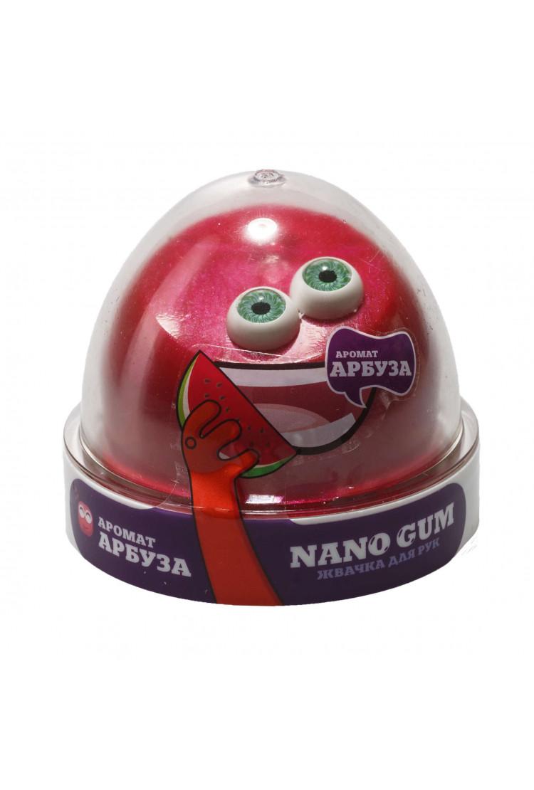 Жвачка для рук Nano gum, с ароматом арбуза