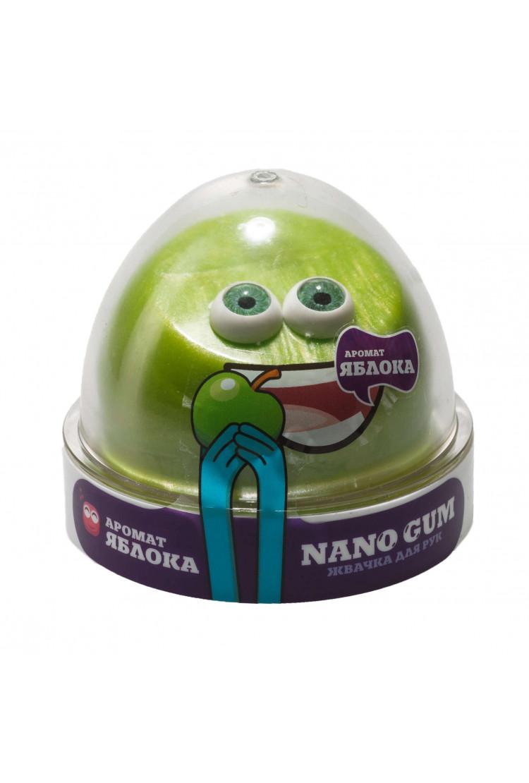 Жвачка для рук Nano gum, с ароматом яблока