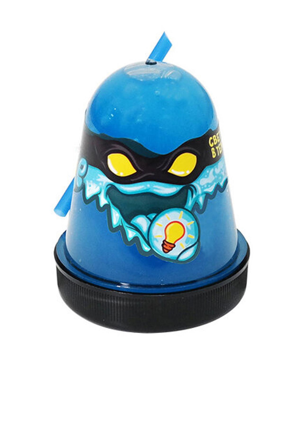 "Slime ""Ninja"", Синий, светится в темноте"