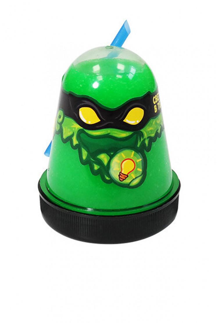 """Slime """"Ninja"""", Зеленый, светится в темноте"""