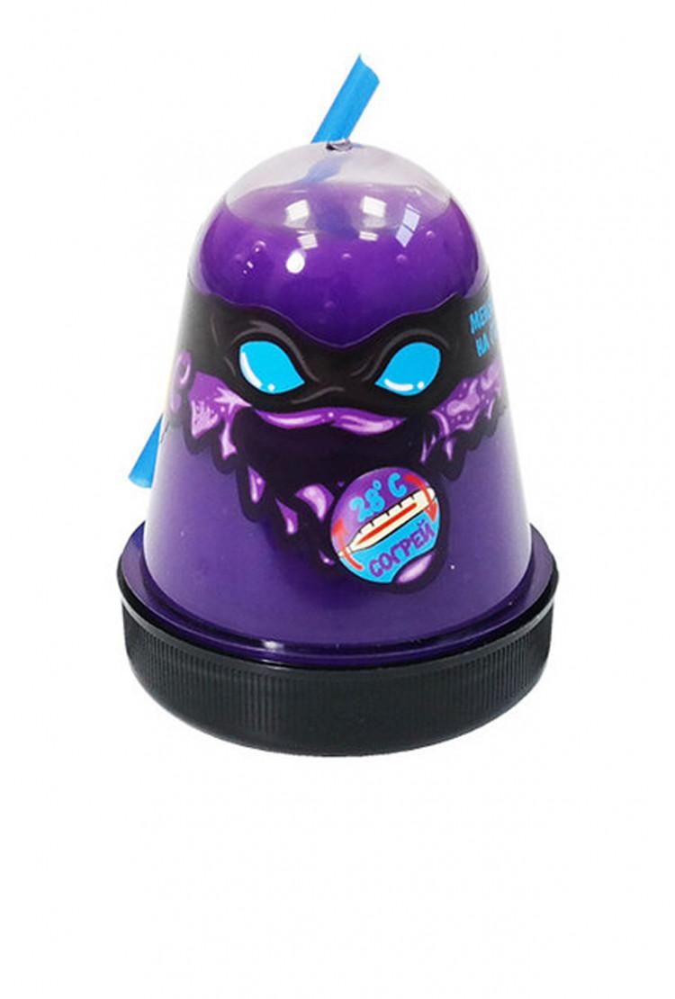 """Slime """"Ninja"""", Меняет цвет на голубой"""