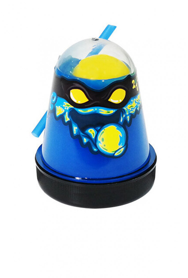"Slime ""Ninja"", Смешивай цвета 2 в 1, Синий, Желтый"