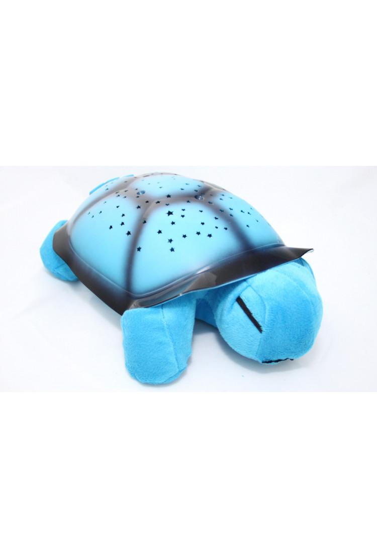 Ночник-проектор звездного неба Черепаха (синяя)