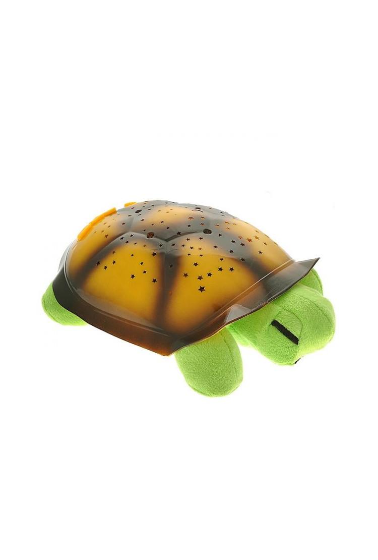 Ночник-проектор звездного неба Черепаха (салатовая)
