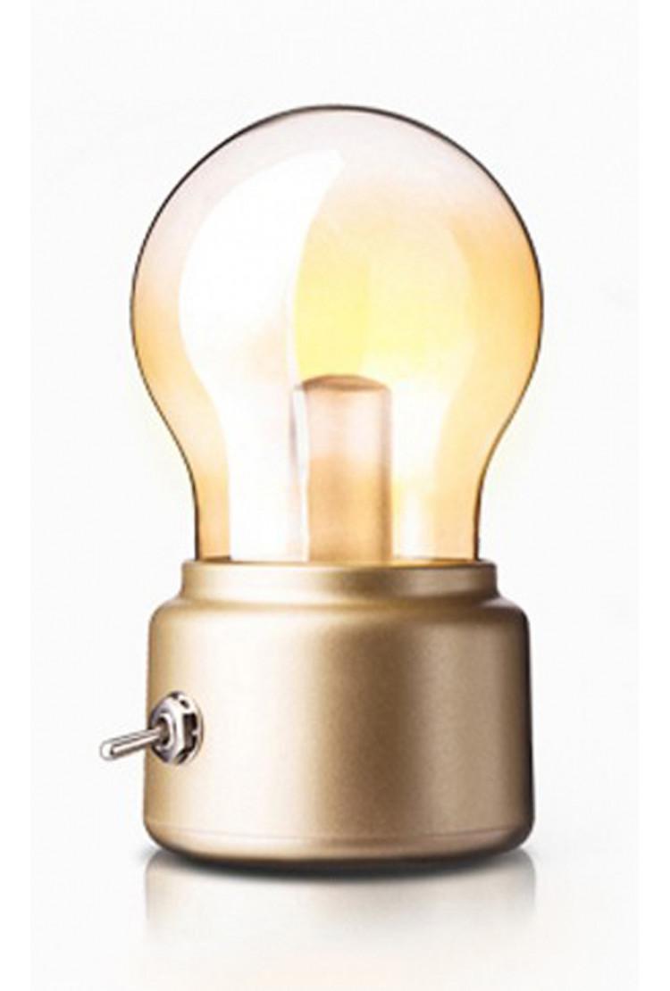 Светодиодный ночник Ретро лампочка