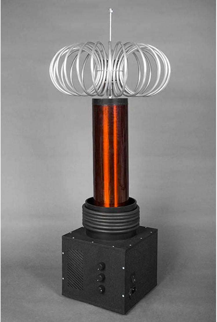 Катушка Тесла TT-Solid State Plus 85 см с тороидом