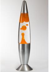 Лава-лампа 48см Оранжевая/Прозрачная