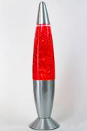 Лава-лампа 48см Красная/Блёстки (Глиттер)