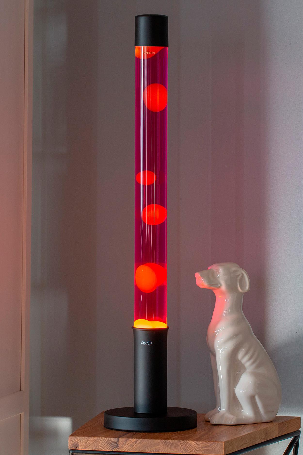 "Лава лампа ""Amperia Falcon"" оранжевая/фиолетовая (76 см) от 8 890 руб"