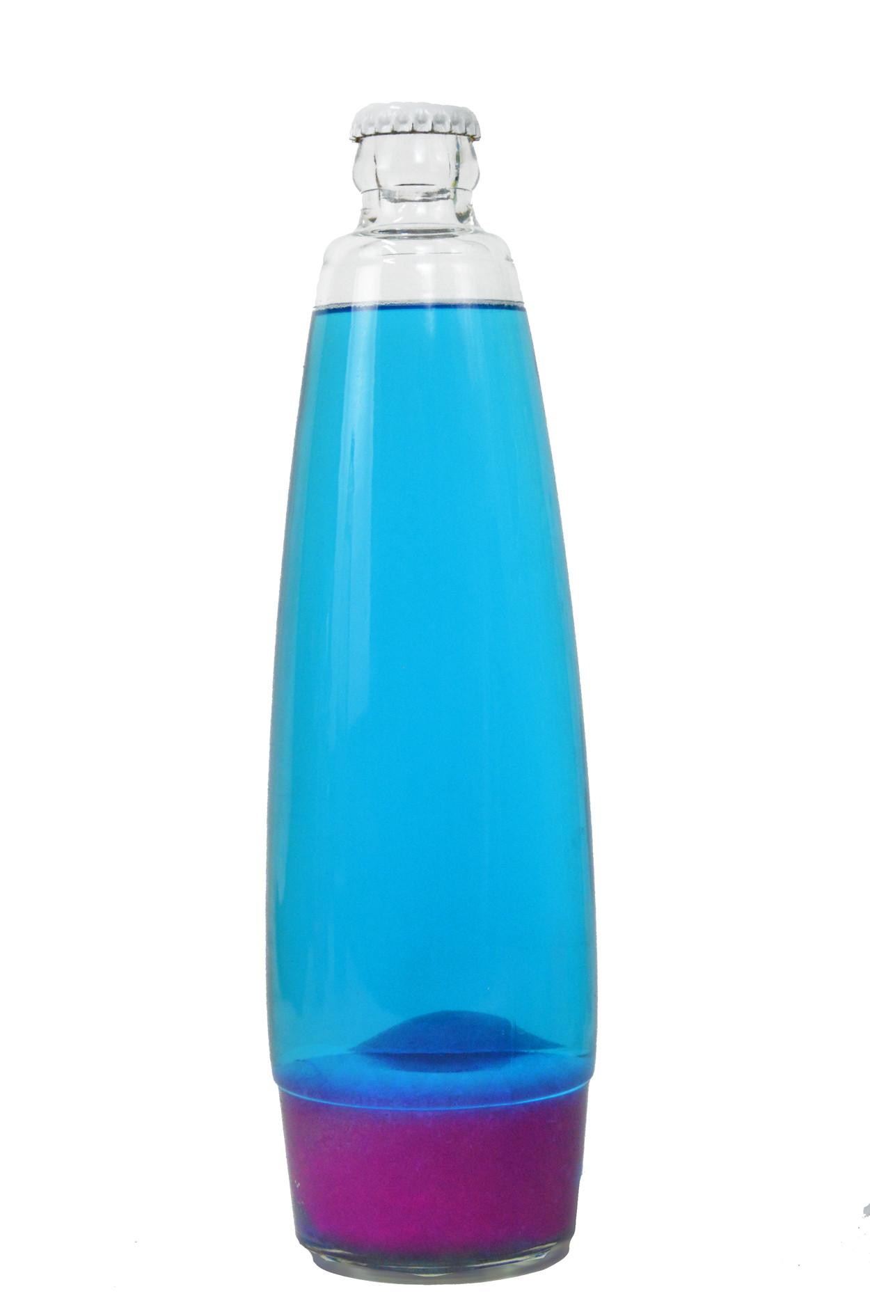 Колба для лава лампы 41 см Розовая/Синяя (25*6,5)