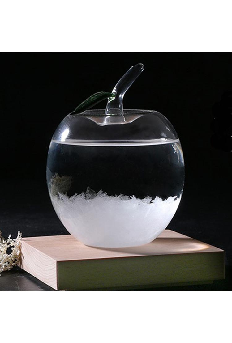 Штормглас  (Stormglass) яблоко с подсветкой (14 см)