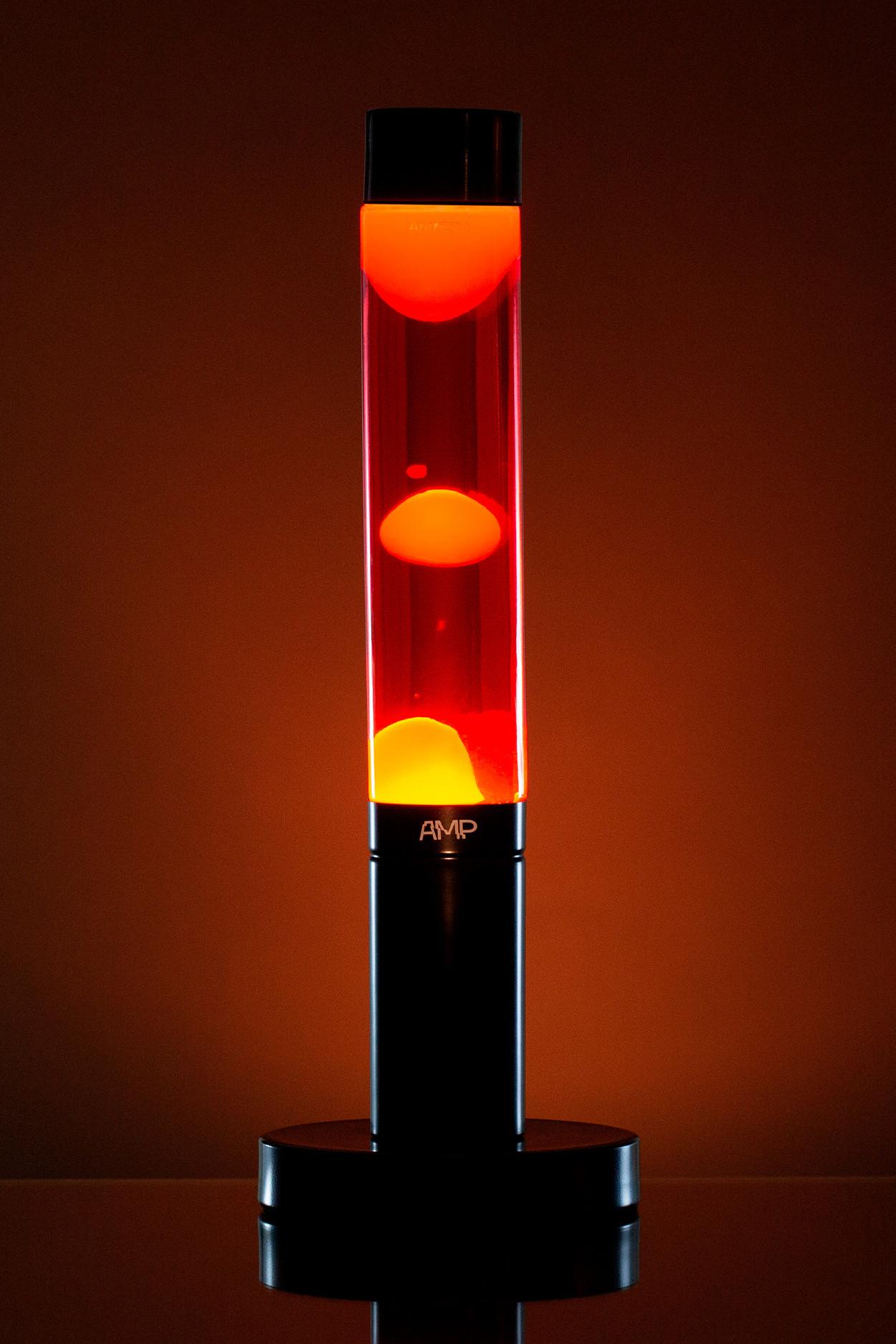 """Лава лампа """"Amperia Slim"""", желтая/красная (39 см) от 2 590 руб"""