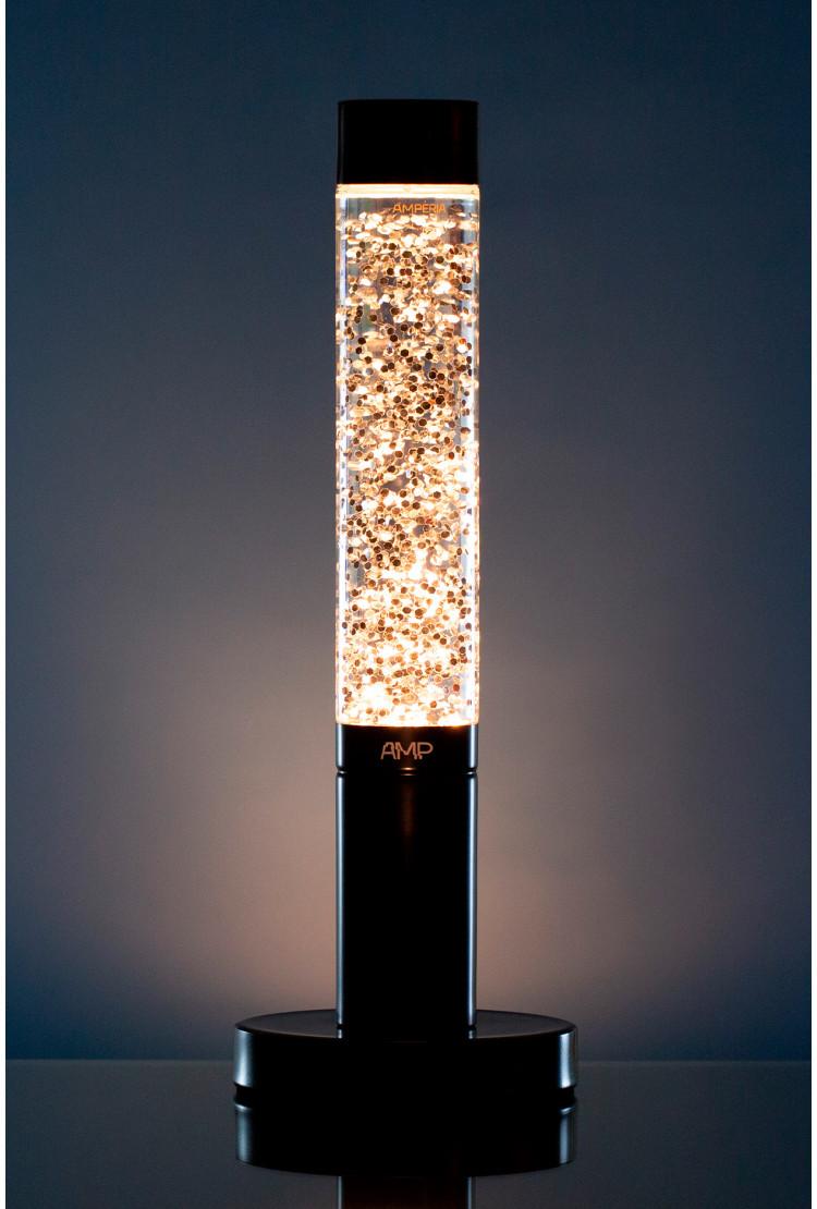 Лава лампа Amperia Slim Сияние (глиттер) (39 см)