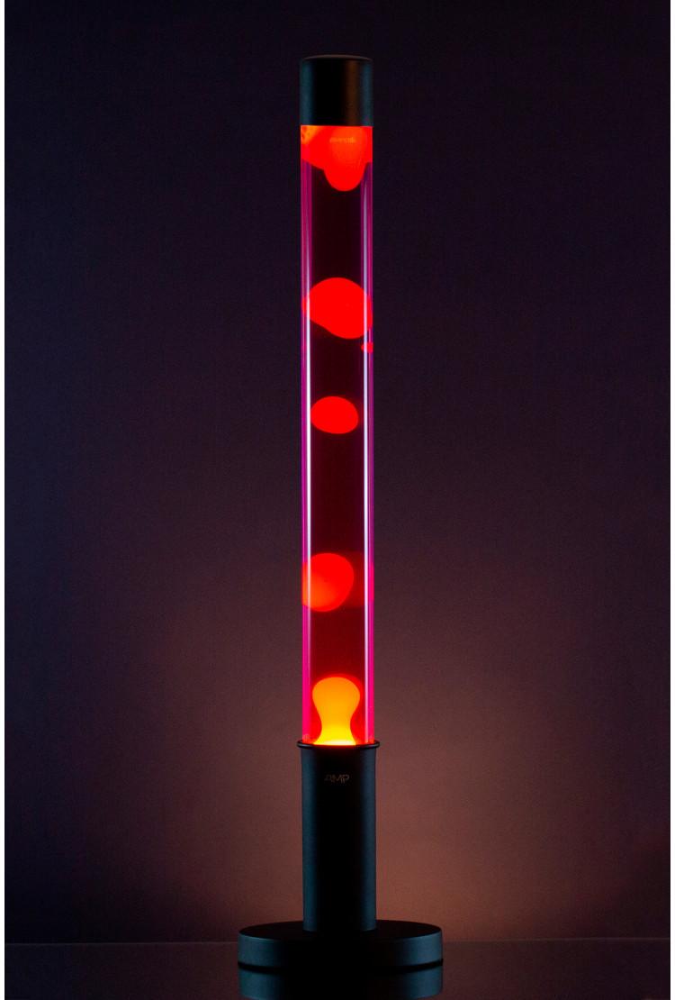Напольная Лава лампа Amperia Falcon Оранжевая/Фиолетовая (76 см)