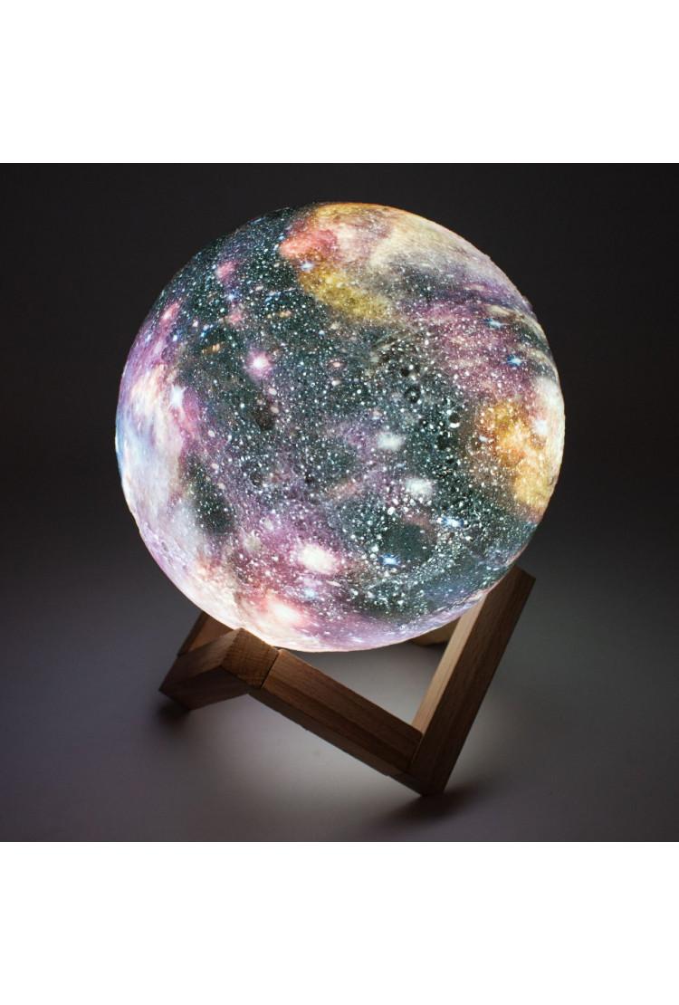 Светильник-ночник Луна Galaxy большая 18 см (RGB)