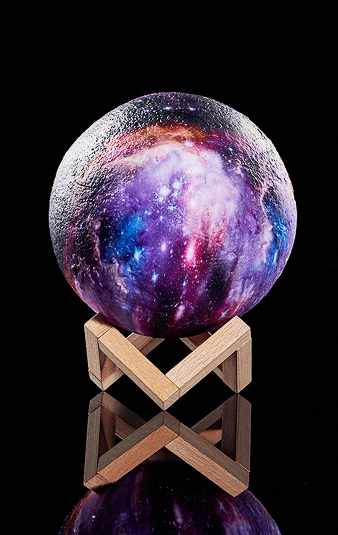 Светильник-ночник Galaxy большая 22 см (RGB)