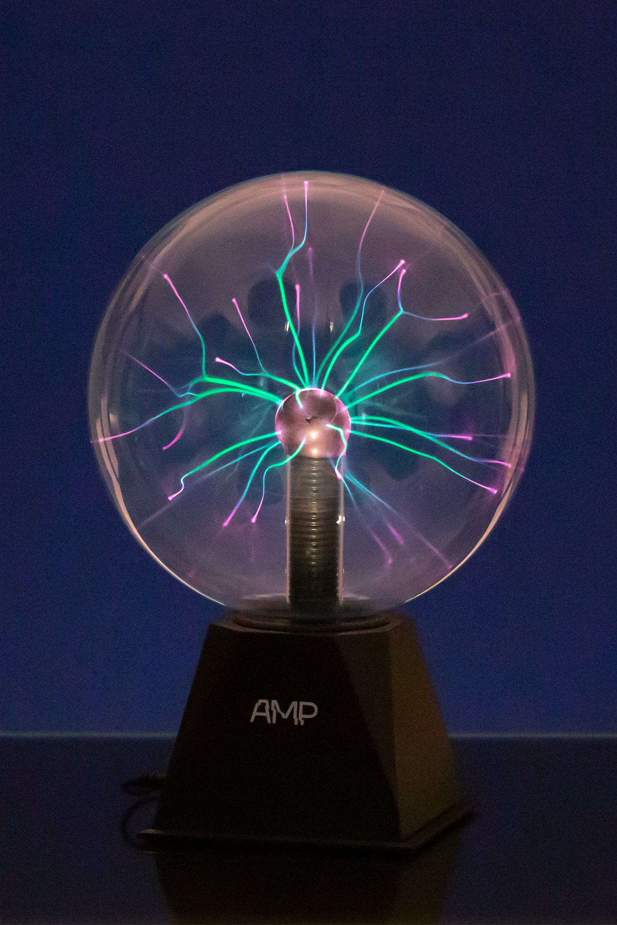 Плазменный Тесла шар Amperia Greenflow 20см Audio