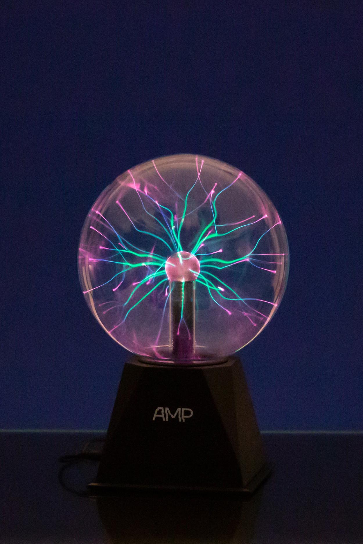 Плазменный шар Amperia Greenflow 16см (Тесла) Audio от 2 241 руб