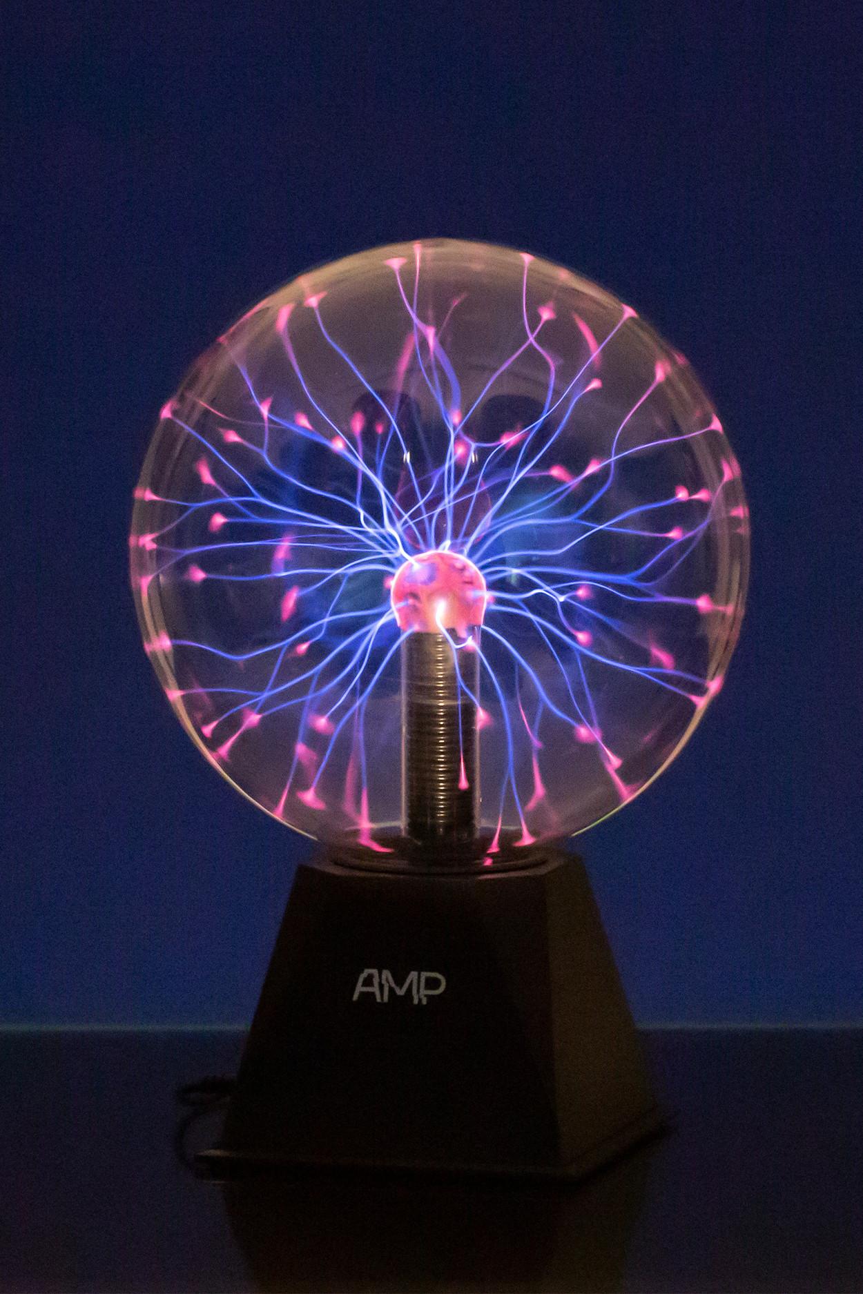 Плазменный шар Amperia Indigo (D - 20см) Audio