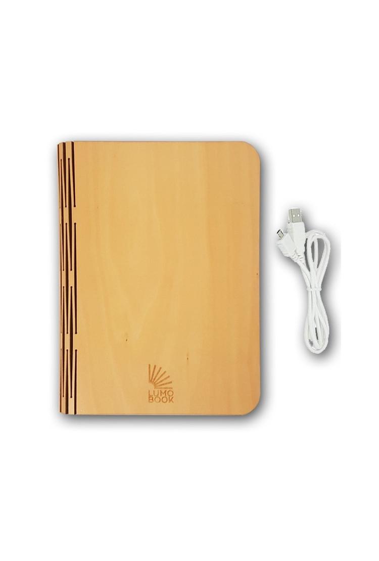 Светильник книга Lumobook mini Клён