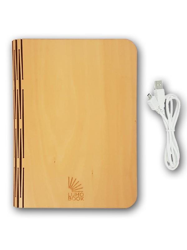 Светильник книга Lumobook mini Клён (14*12см)