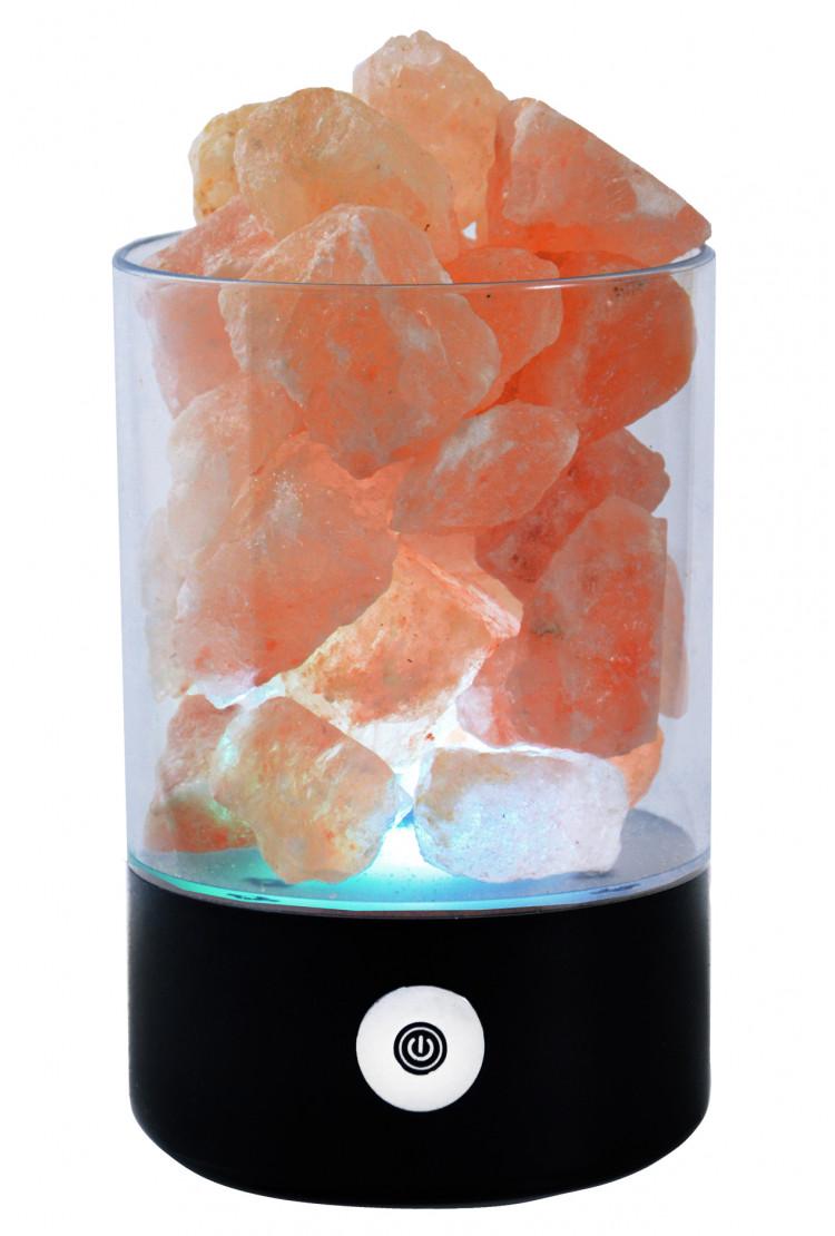 Солевой светильник SmartSalt круглый Black