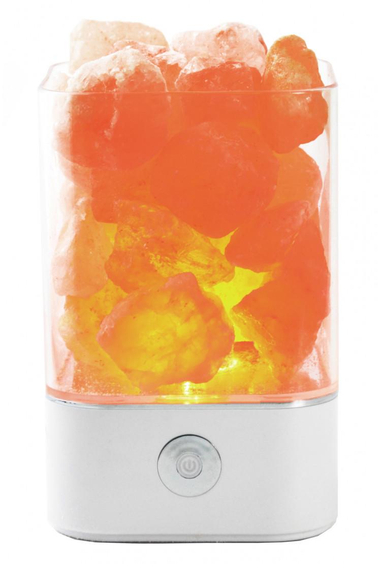 Солевой светильник SmartSalt квадратный White