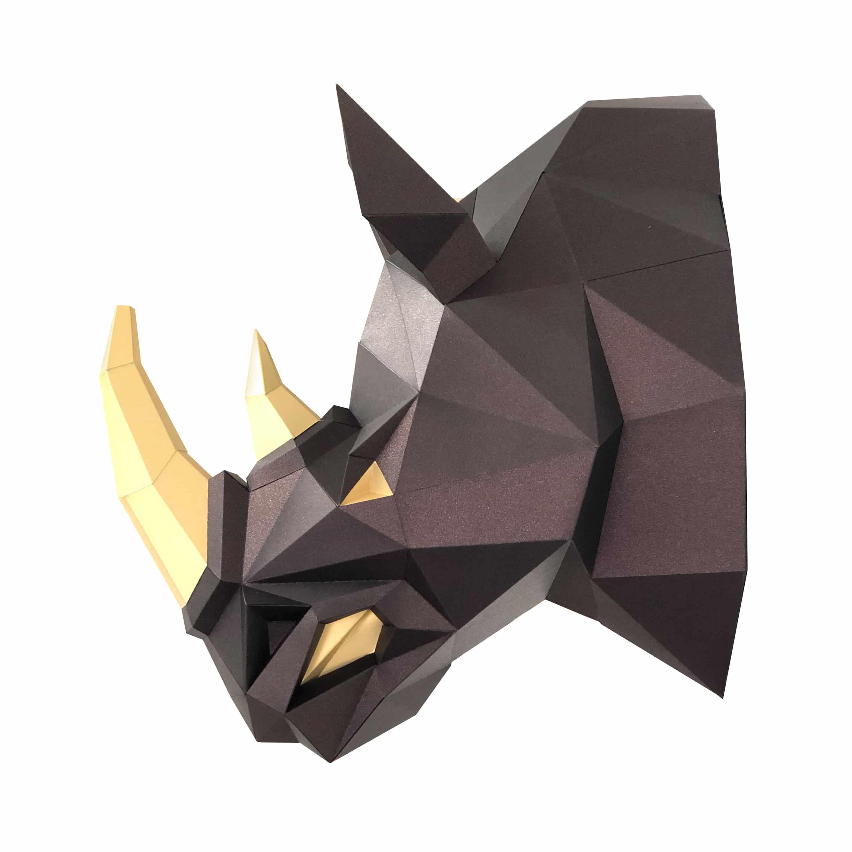"3D-конструктор Paperraz ""Носорог"""