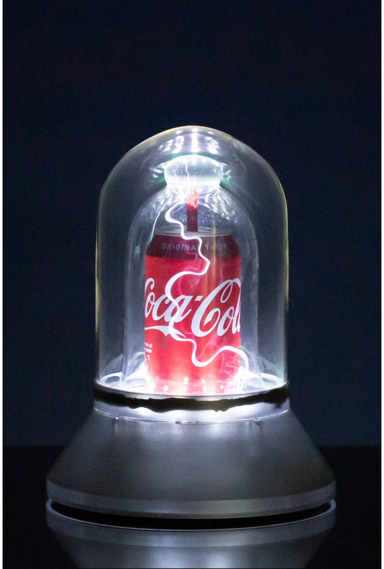 Плазменный шар Купол Coke