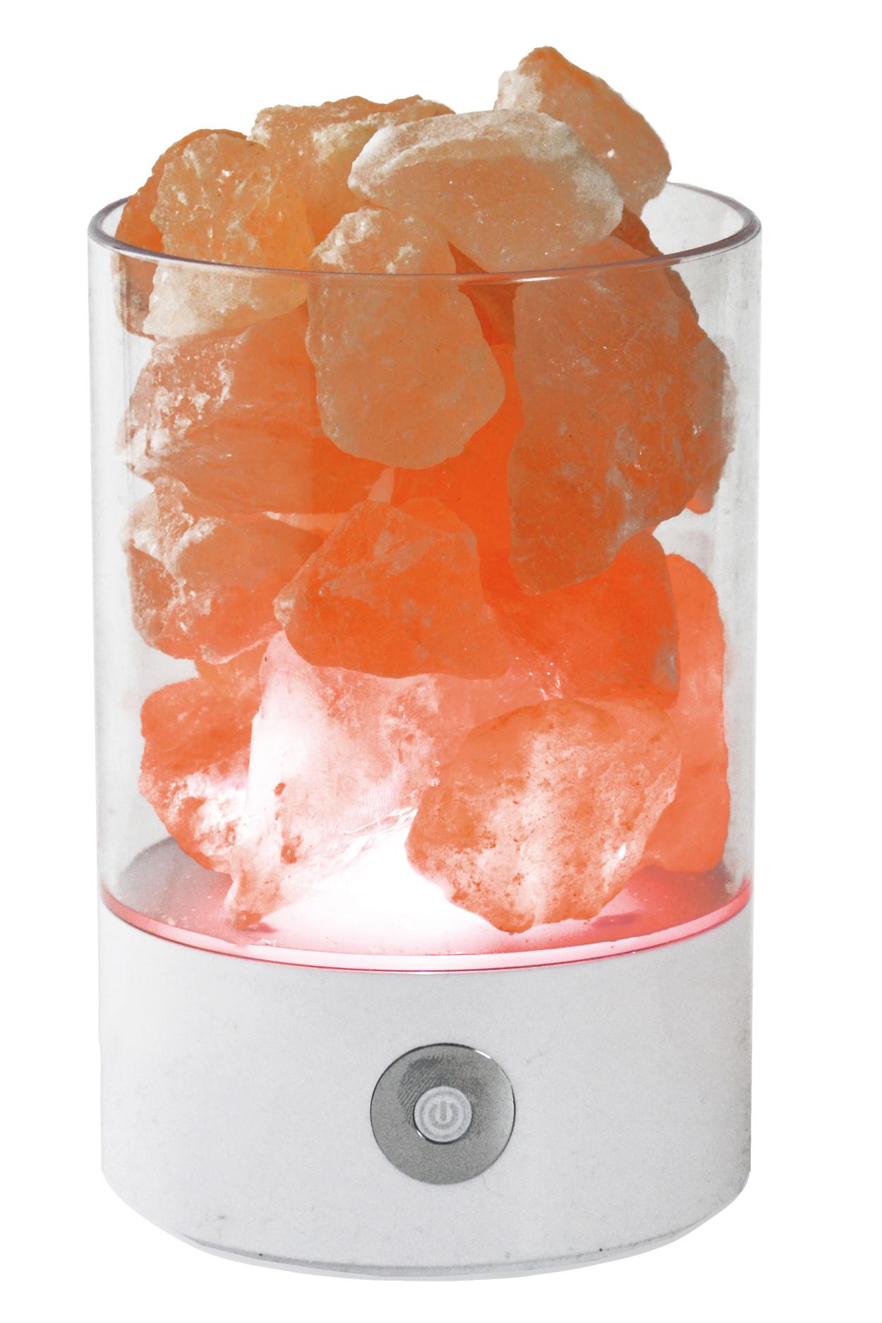 Солевой светильник SmartSalt круглый White