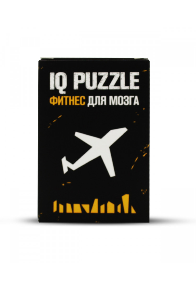 IQ PUZZLE Самолет (11 деталей)