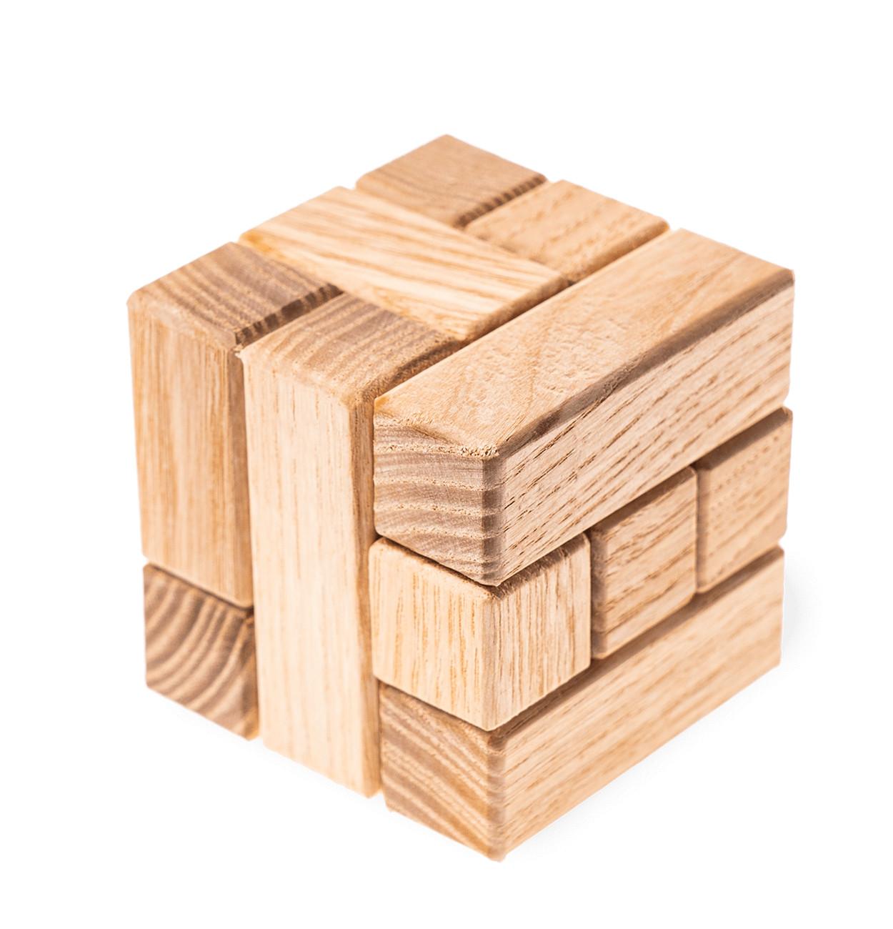 IQ PUZZLE Wooden Кубик 3х3
