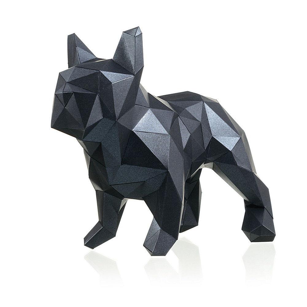 """3D-конструктор Paperraz """"БУЛЬДОГ МАРСЕЛЬ"""" (черный) от 1 390 руб"""