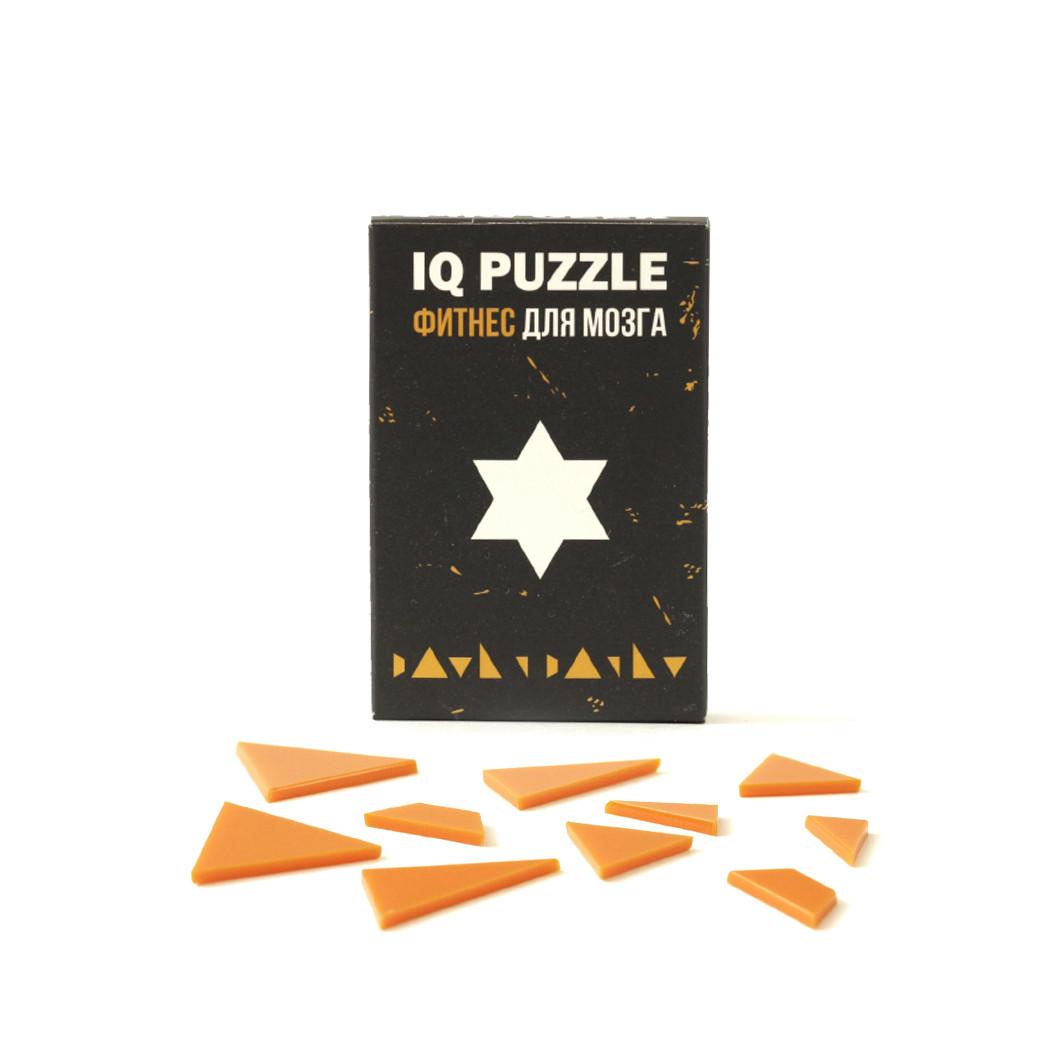 IQ PUZZLE Звезда Давида  ( 10 деталей)