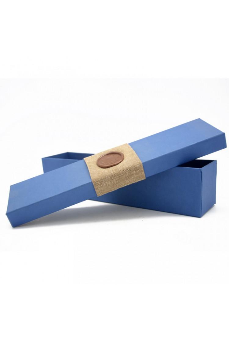 Подарочная коробка для калейдоскопа. Синяя.