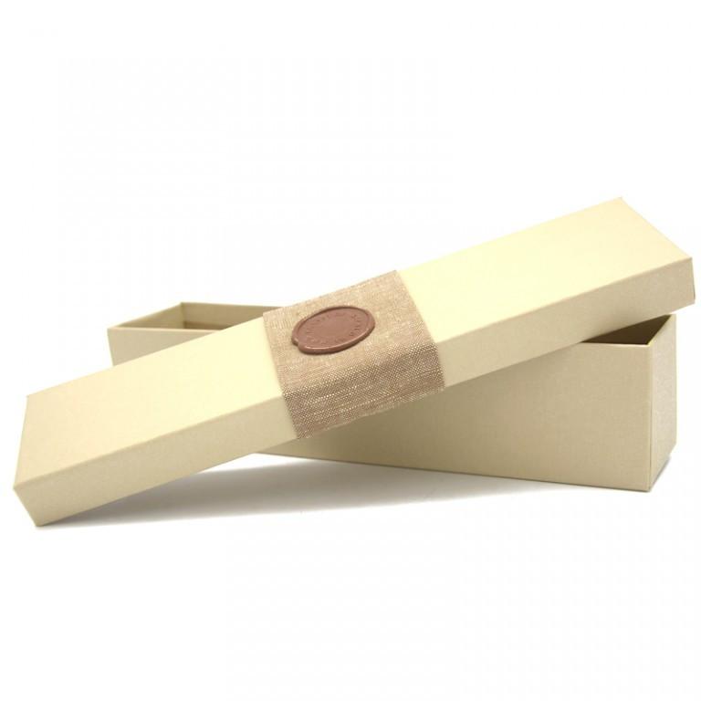 Подарочная коробка для калейдоскопа. Бежевая.