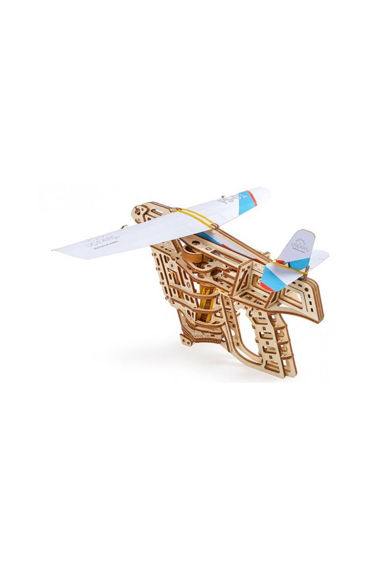 Сборная модель Ugears Пускатель самолетиков
