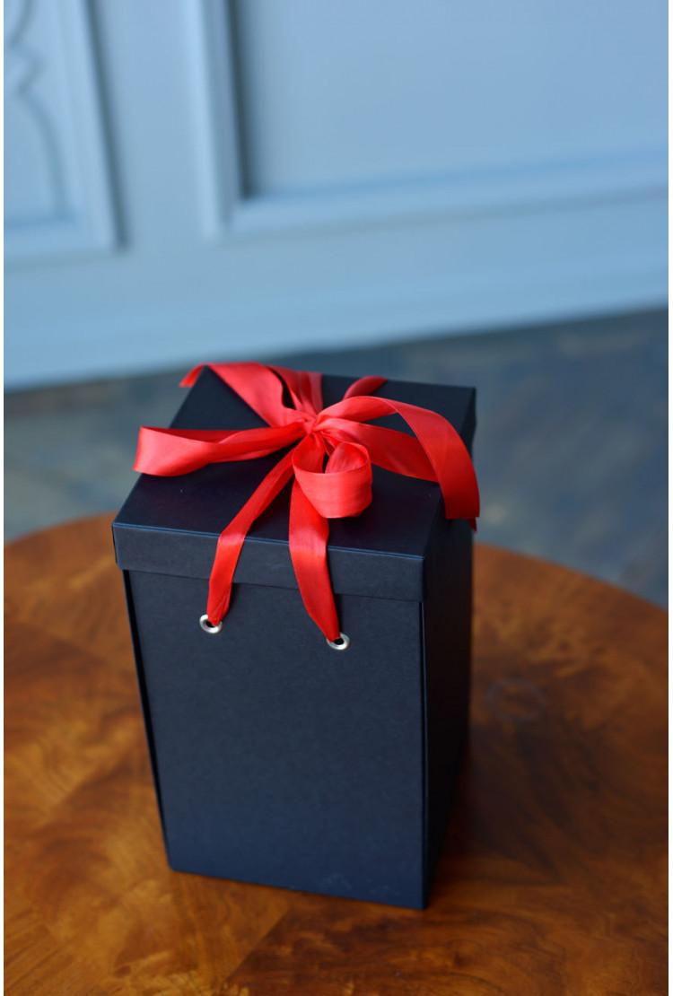 Подарочная коробка Premium, черная (36*26*26) WoW Эффект