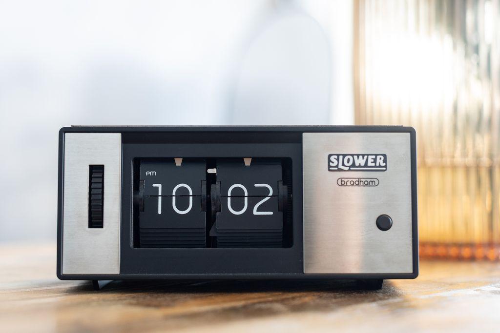 Винтажные настольные перекидные часы Air-Flip Slower