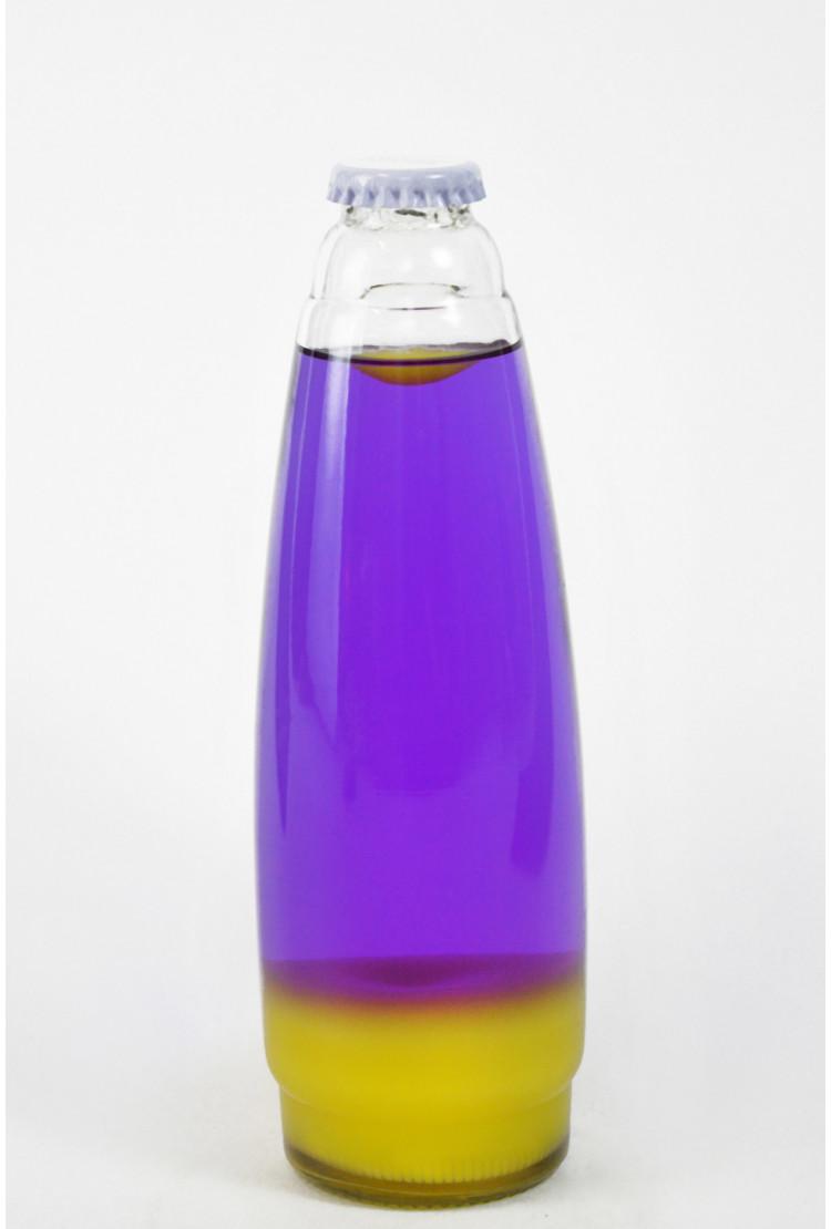 Колба Amperia для лава-лампы 35 см Оранжевая/Фиолетовая (20*5,5)