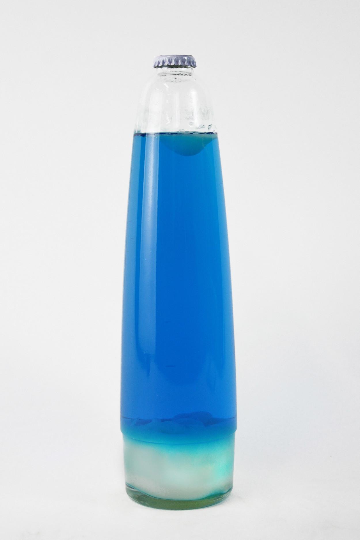 Колба для лава-лампы 48 см Белая/Синяя (20,5*8 см)