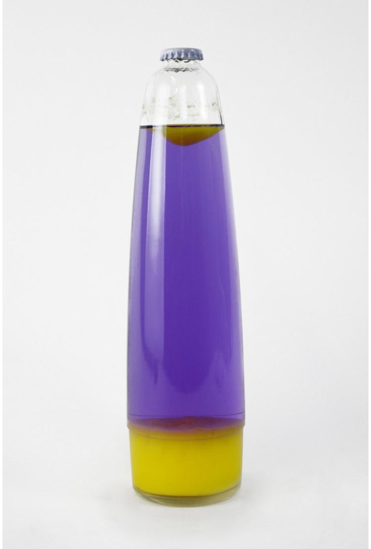 Колба Amperia для лава-лампы 48 см Оранжевая/Фиолетовая (31*8 см)