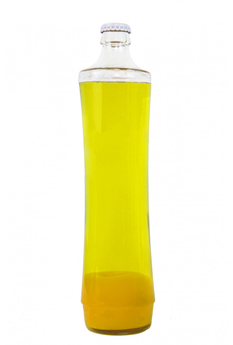 Колба Amperia для лава-лампы Grace 39 см Оранжевая/Желтая (21*7 см)