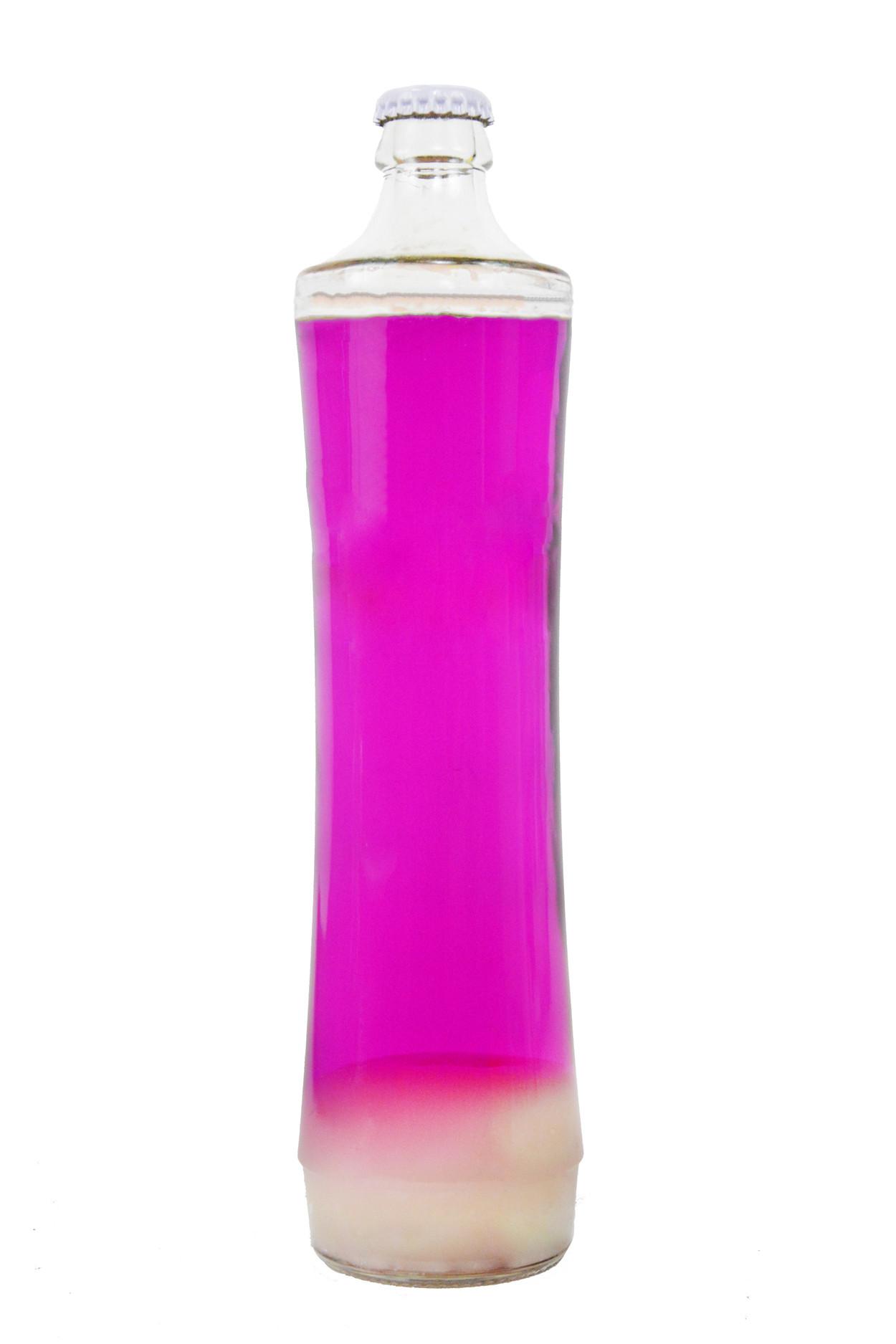 Колба для лава-лампы 39 см Белая/Розовая (21*7 см)
