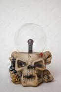 Электрический плазменный шар Тесла Череп (D -13см)