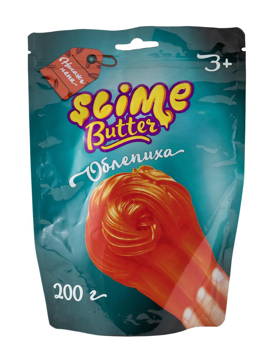 Slime Butter-slime с ароматом облепихи