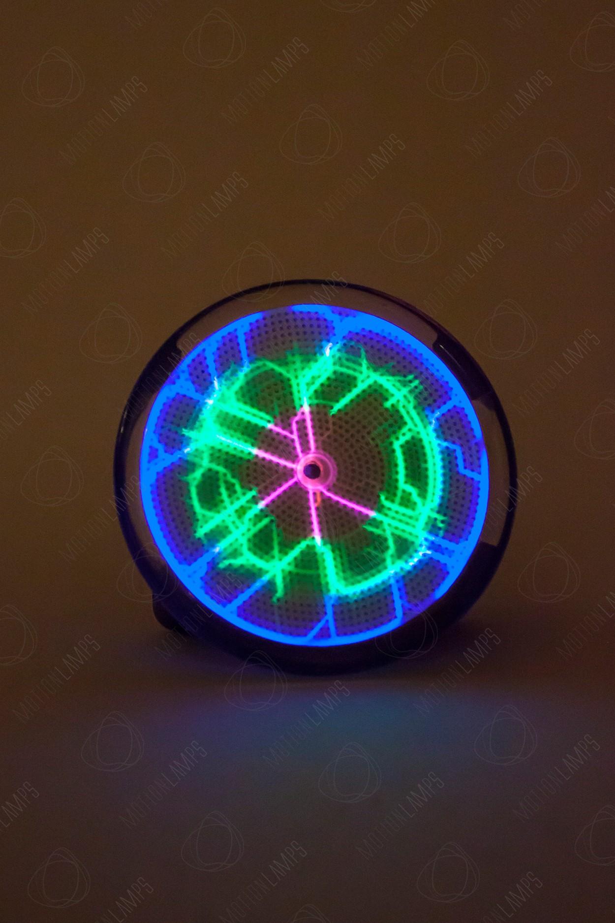 Карманный плазменный диск Тесла Rainbow (Pocket) D - 7см